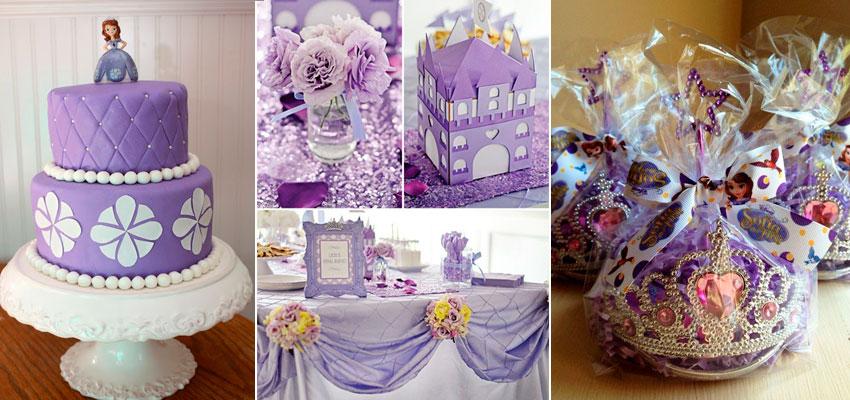 Festa Princesa Sofia 41 ideias para o aniversário -> Decoração De Aniversário Princesa Sofia