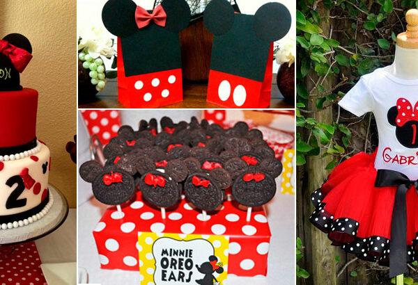 Festa da Minnie Vermelha: 40 ideias incríveis