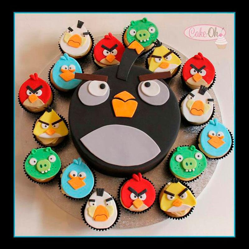 cupcake e bolo