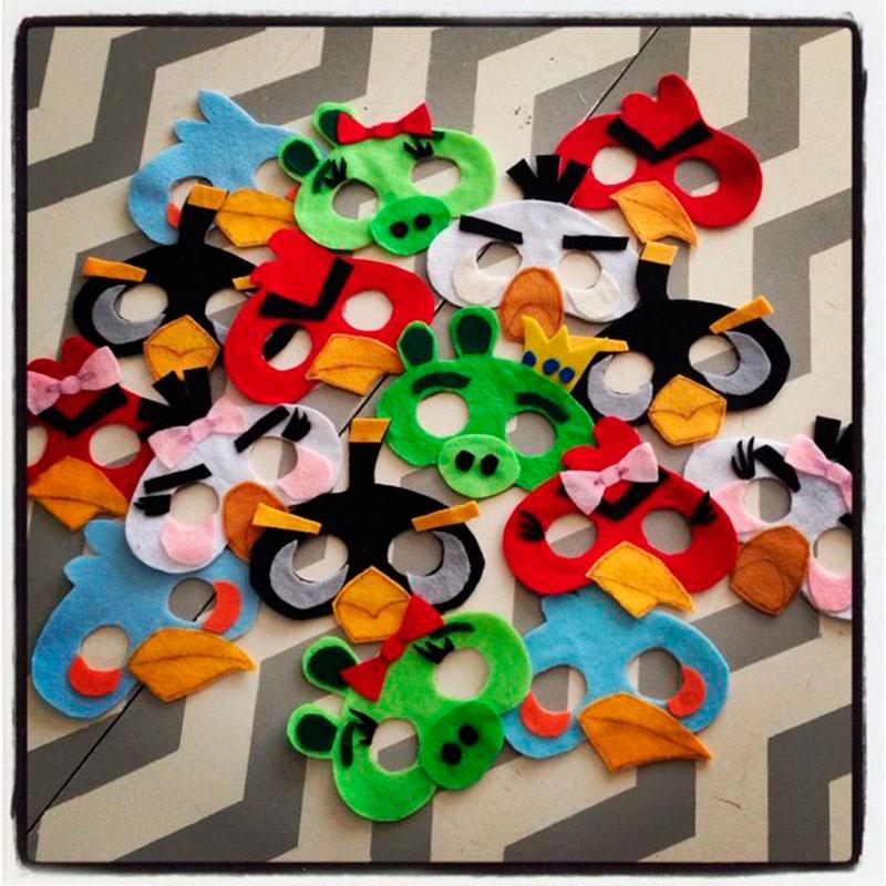 mascara Angry Birds
