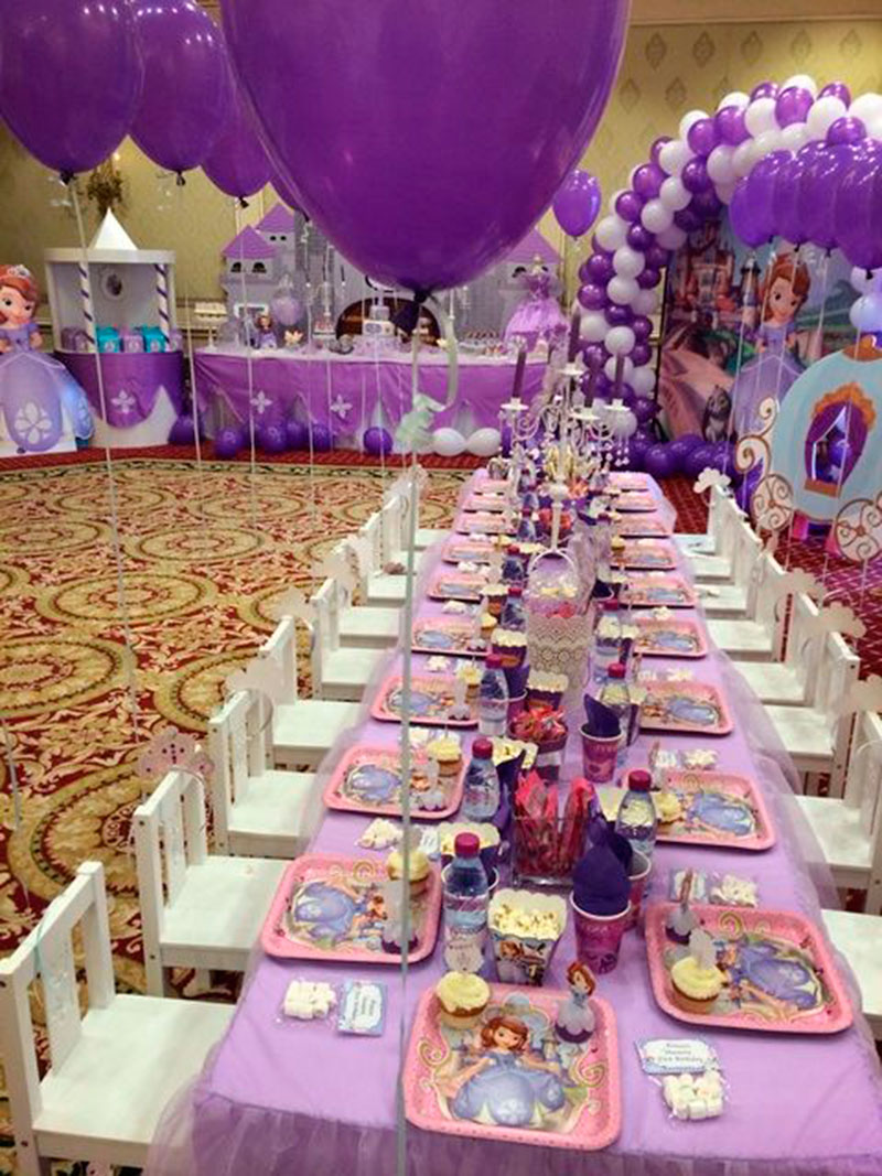 Festa Princesa Sofia 41 Ideias Para O Aniversrio