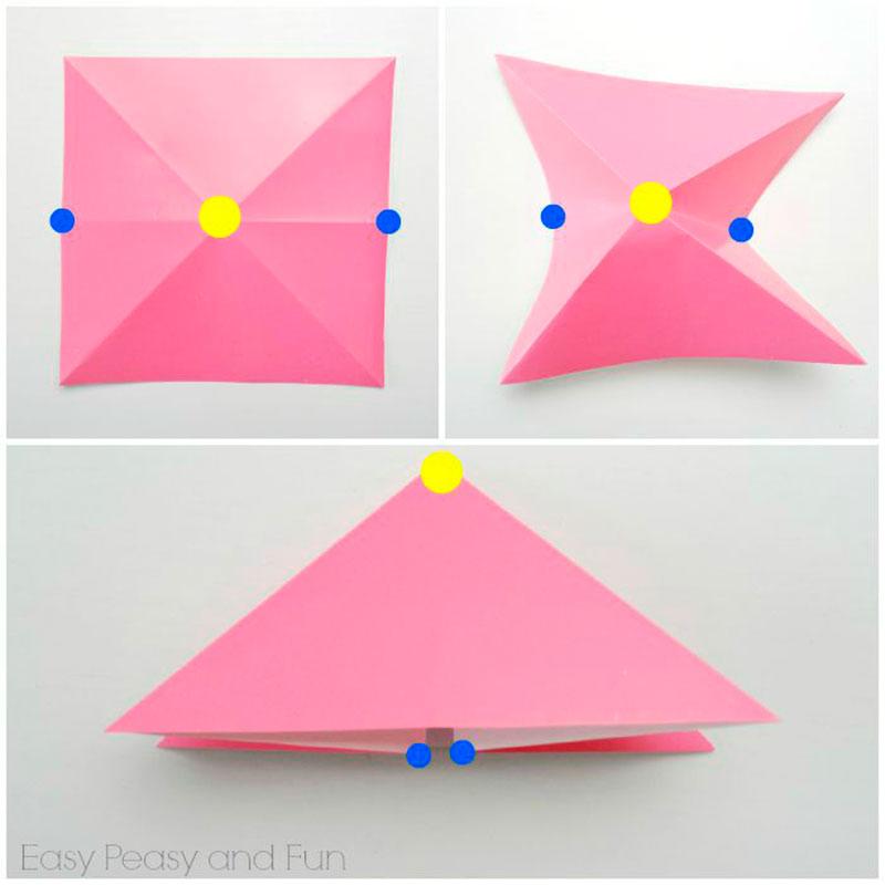 origami passo 1
