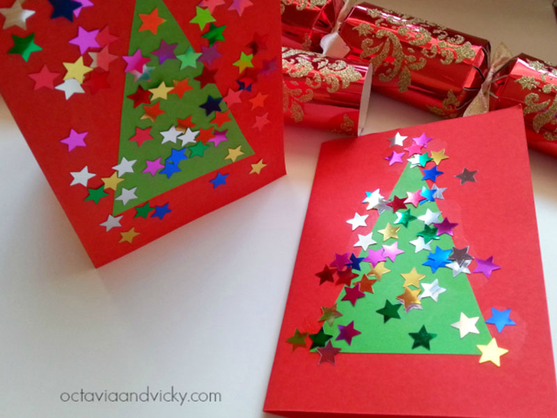 Cartão de Natal feito pelas criançada-1