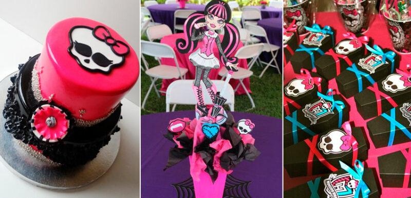 Festa Monster Hight 34 ideias para festa infantil