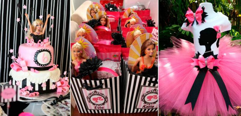 Festa da Barbie-33 ideias para arrasar na festa da sua filha