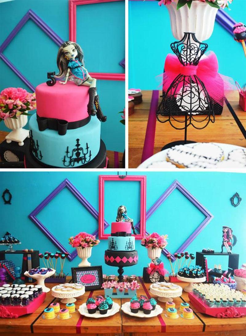 Monster Hight-bolo e decor