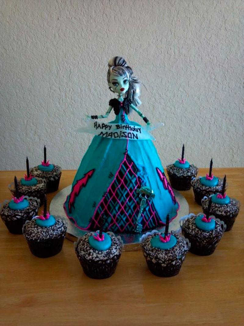 Monster Hight cupcake