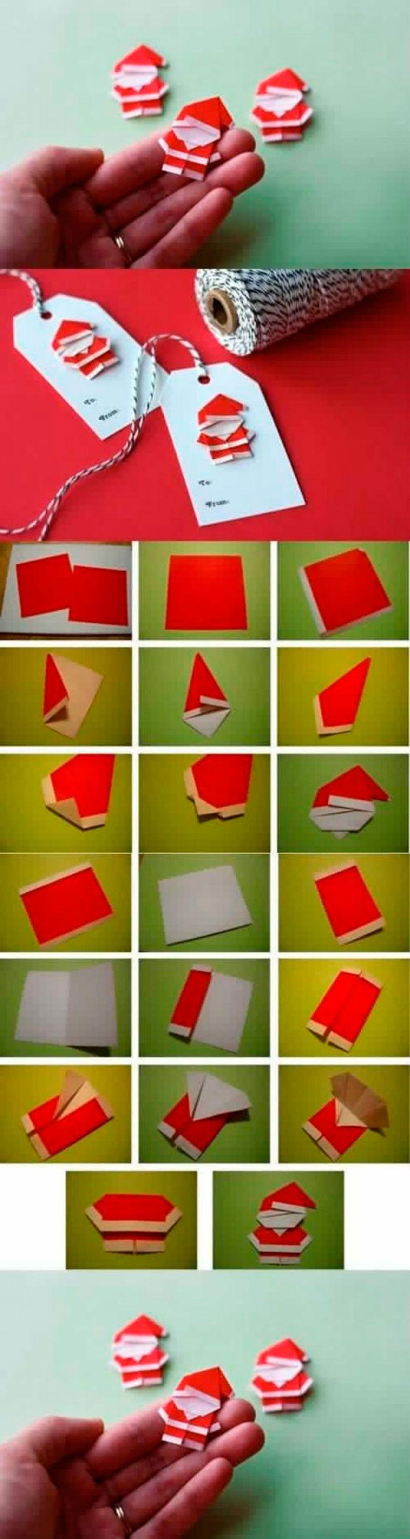 Papai Noel - origami