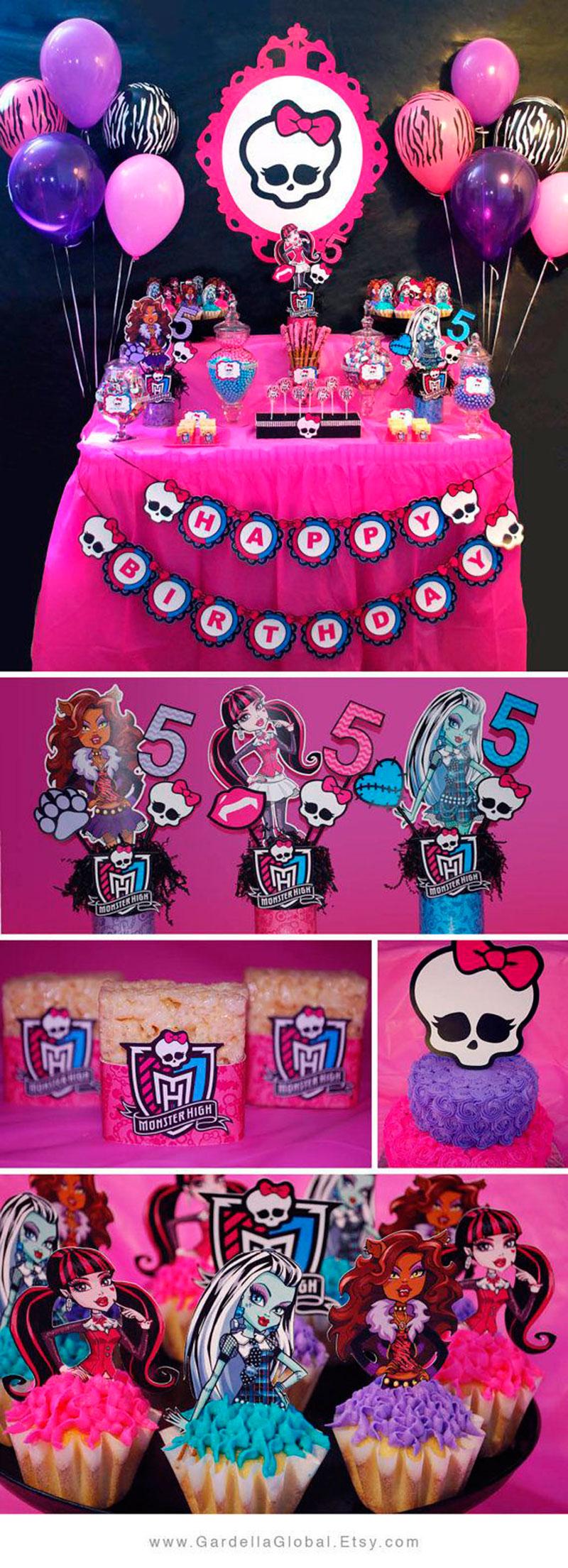 decor Monster Hight