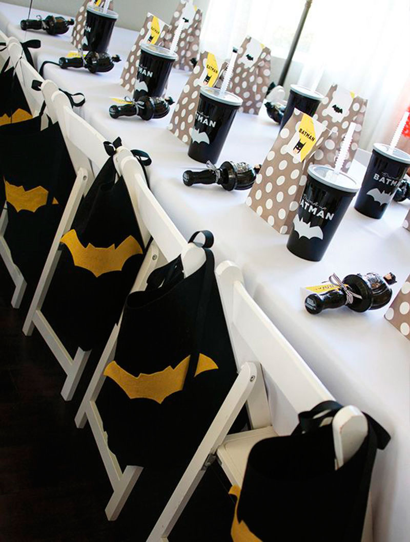 mesa do batman