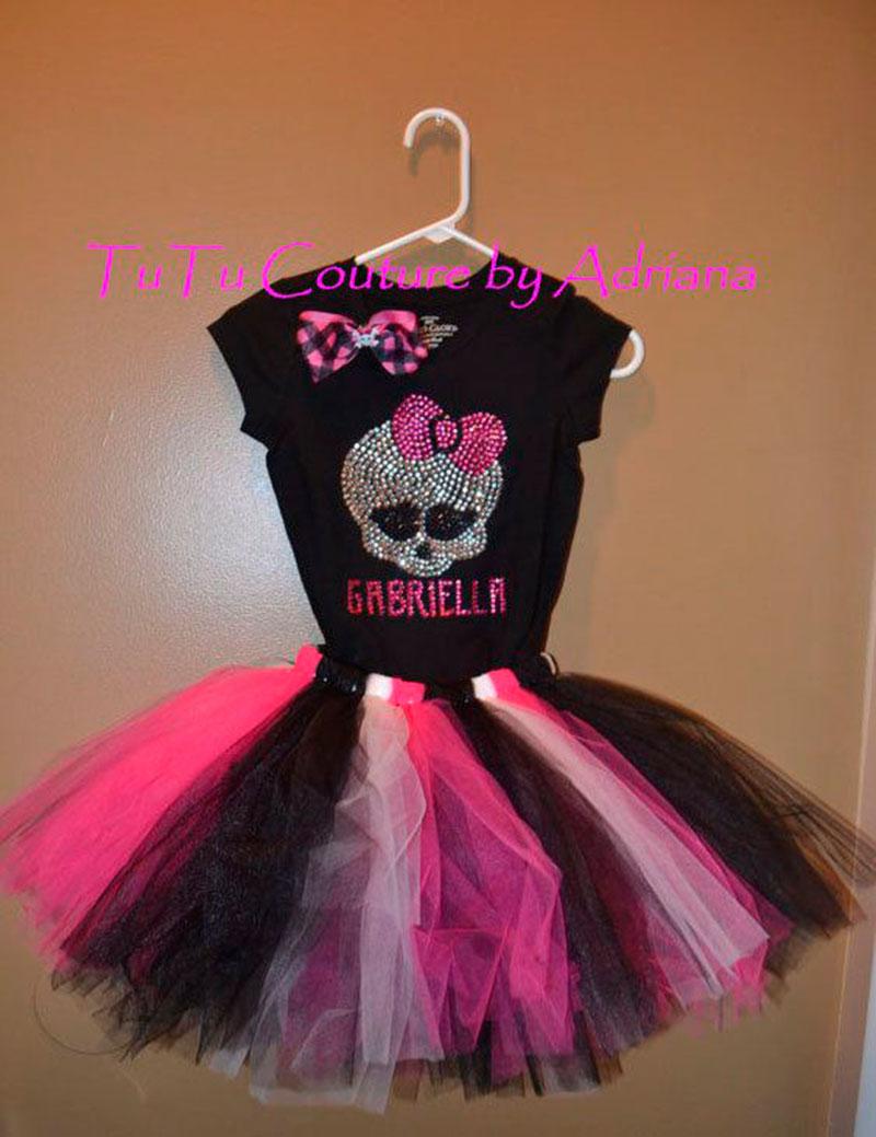 vestido preto Monster Hight