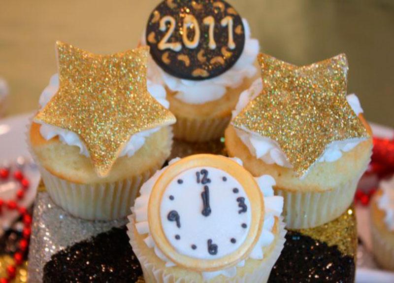 cupcake ano novo