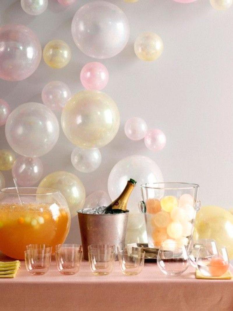 mesa decorada ano novo