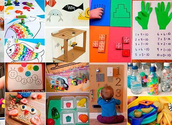 47 atividades educativas para se divertir com as crianças