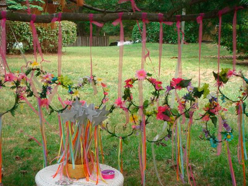 arco de flores no jardim