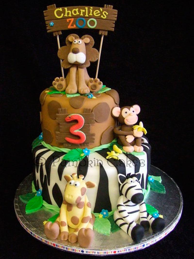 bolo de 3 aninhos
