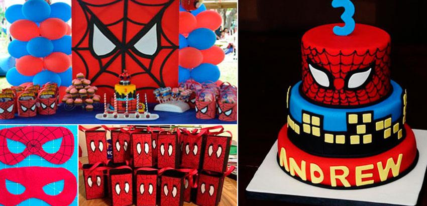 32 inspirações para festa do Homem Aranha
