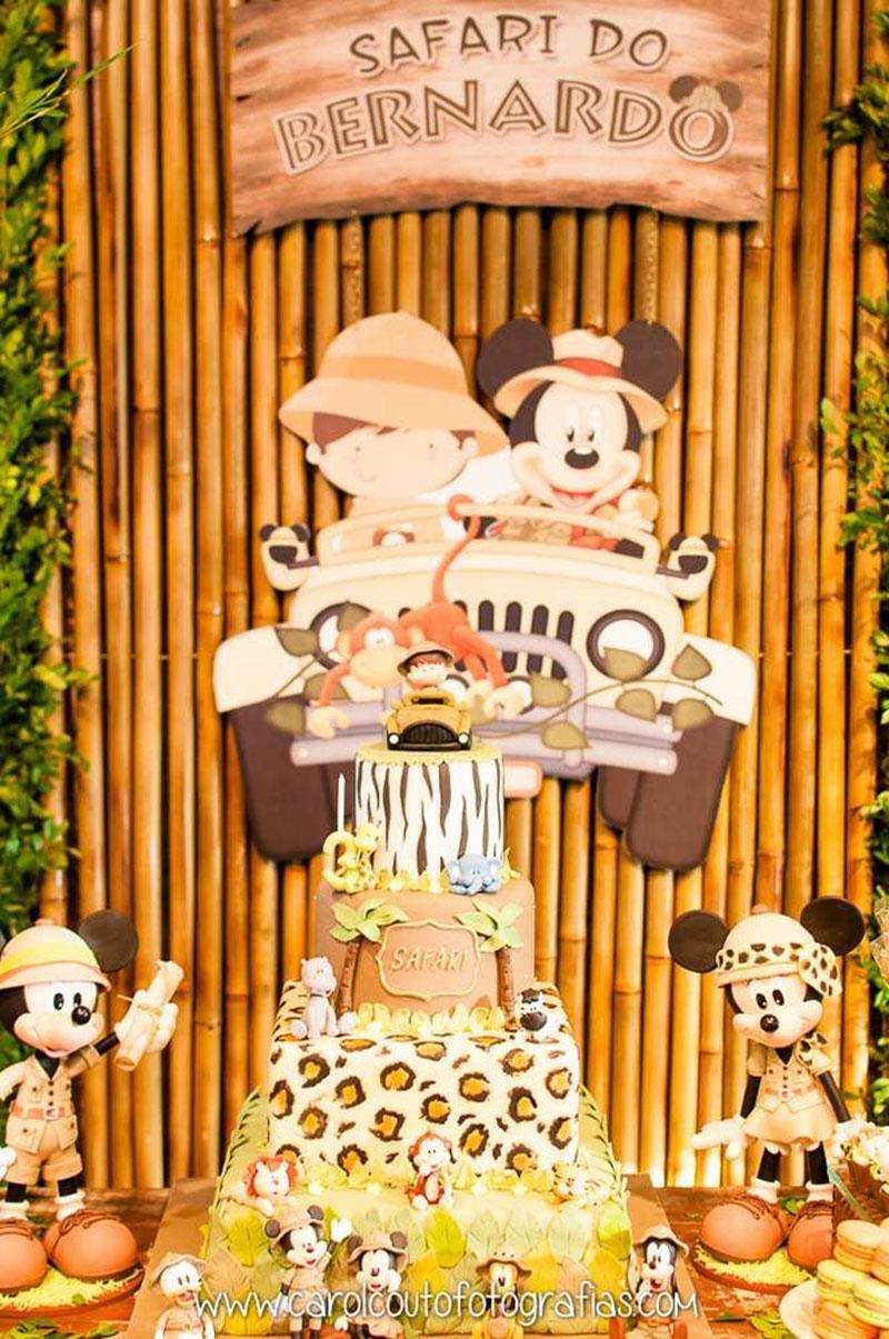 safari do Mickey