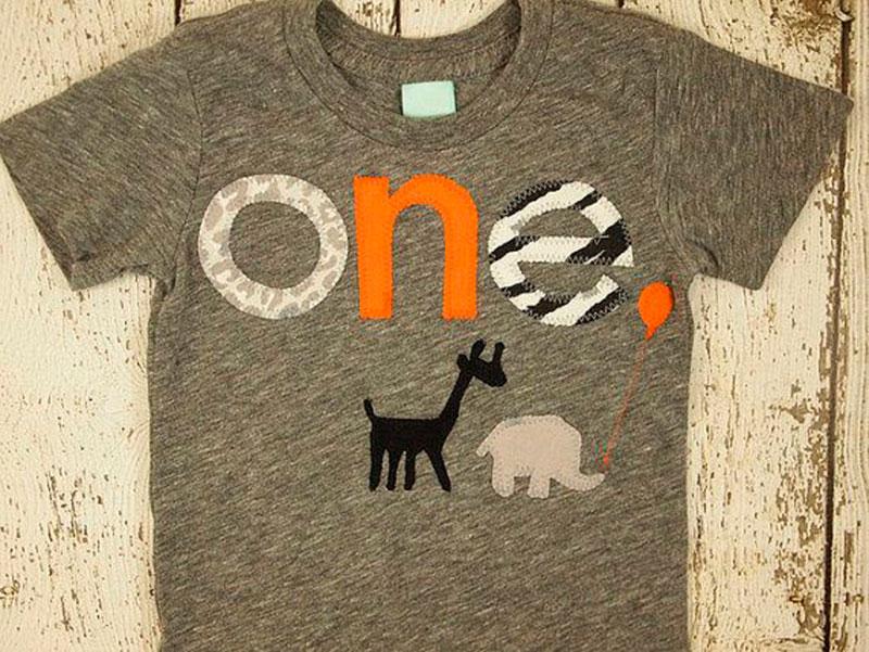 t-shirt de 1 aninho