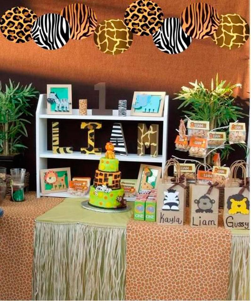 5af67f499 Festa Safari - 60 inspirações de decoração infantil