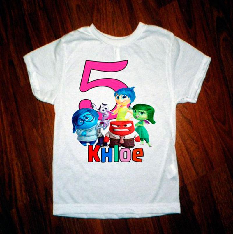 tshirt 5 anos