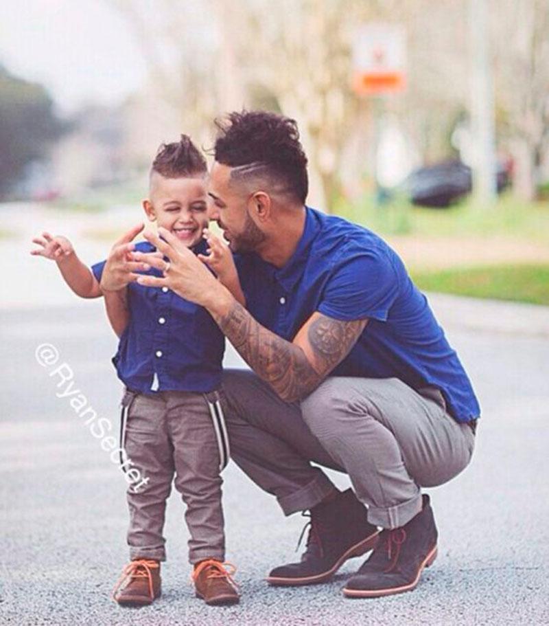 35b1e854dfe7ad Tal mãe tal filha e tal pai tal filho: 35 poses para fotografar