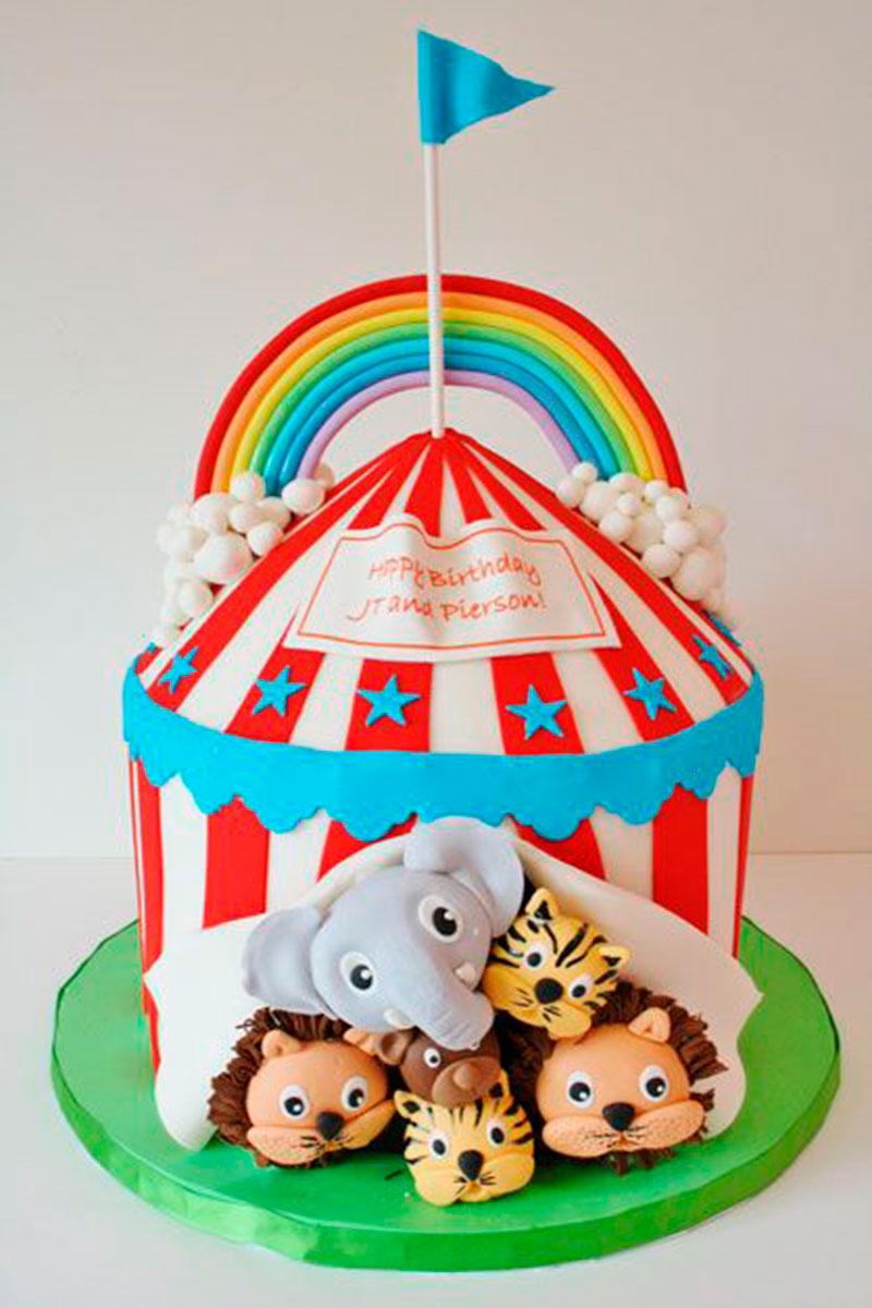 bolo festa circo