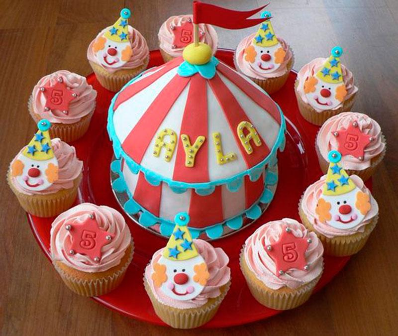 cupcake e bolinho