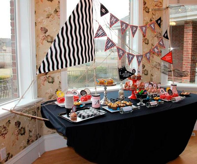 mesa festa marinheiro