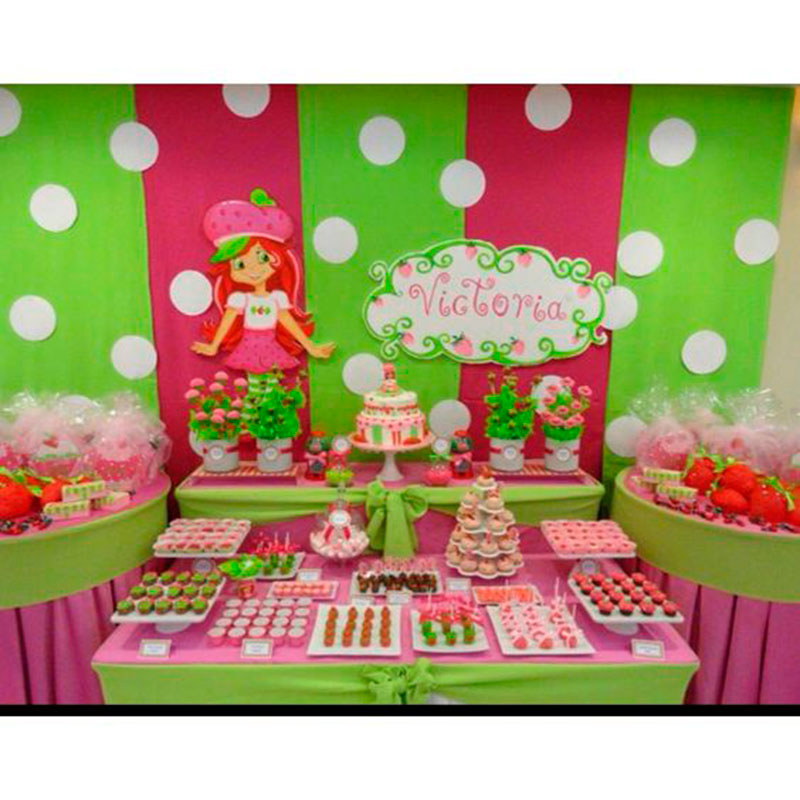 strawberry birthday supplies - 640×640