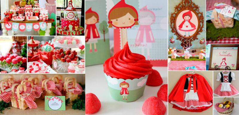 Festa Chapeuzinho Vermelho: 50 ideias para arrasar na festa infantil