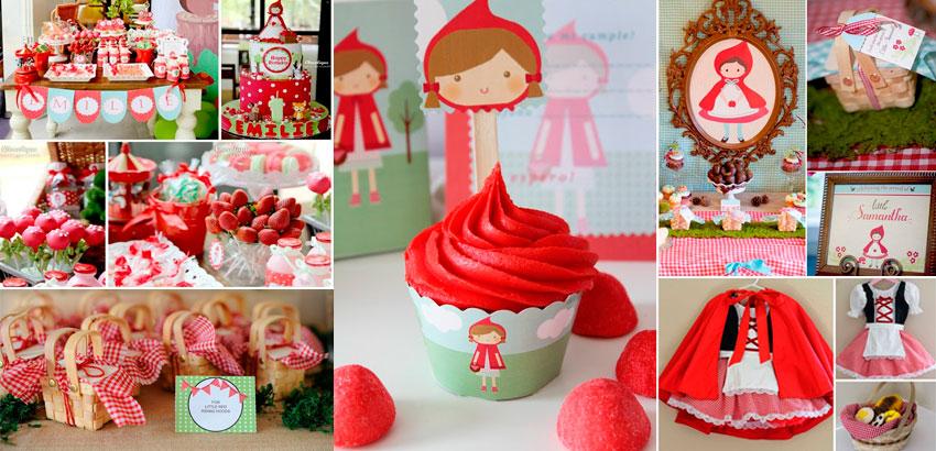 Festa Chapeuzinho Vermelho  50 ideias para arrasar na festa infantil 2cf5f8e7f35