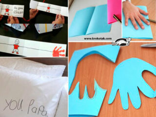 Dia dos Pais - 8 ideias criativas para a criança presentear