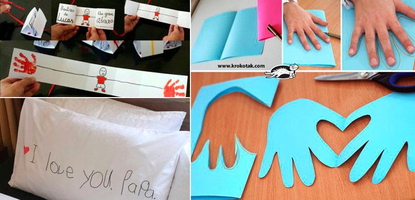 Excepcional dos Pais - 8 ideias criativas para a criança presentear SJ44