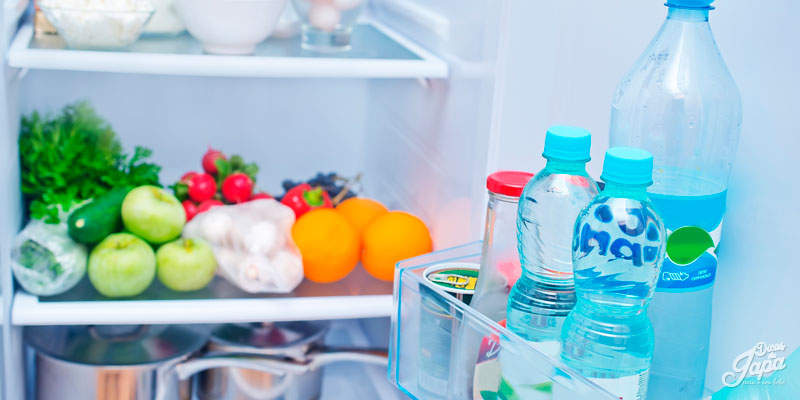 Organizando as compras evitando desperdício de alimentos