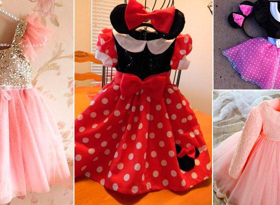 Vestido de Festa Infantil - 22 modelos para se inspirar- Parte 1