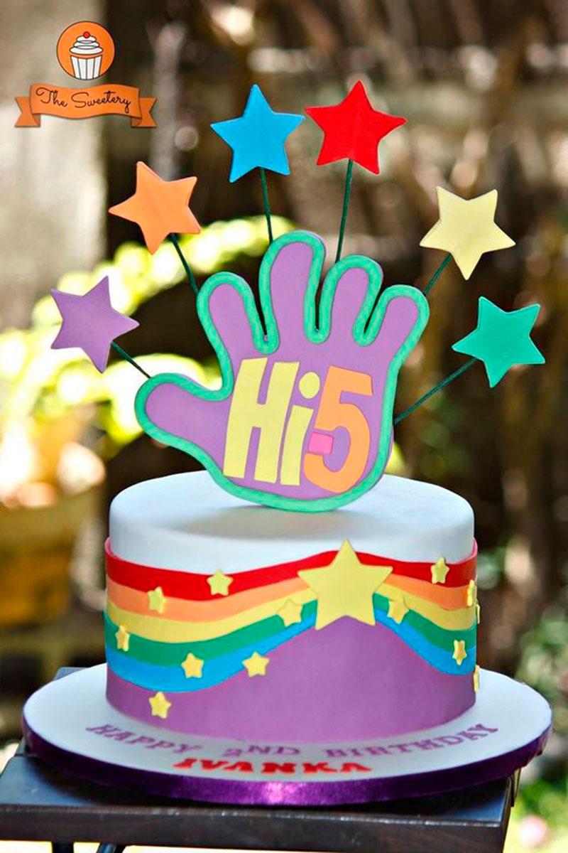 bolo festa hi-5