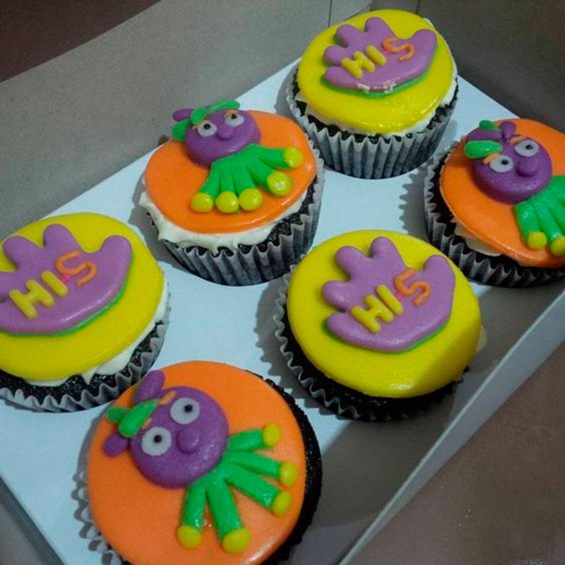 cupcake divertido