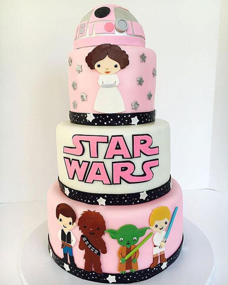 Guerra nas estrelas bolo