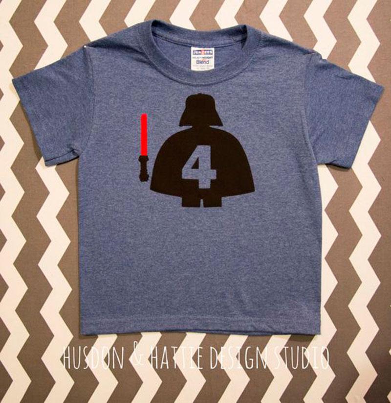 camiseta festa star wars