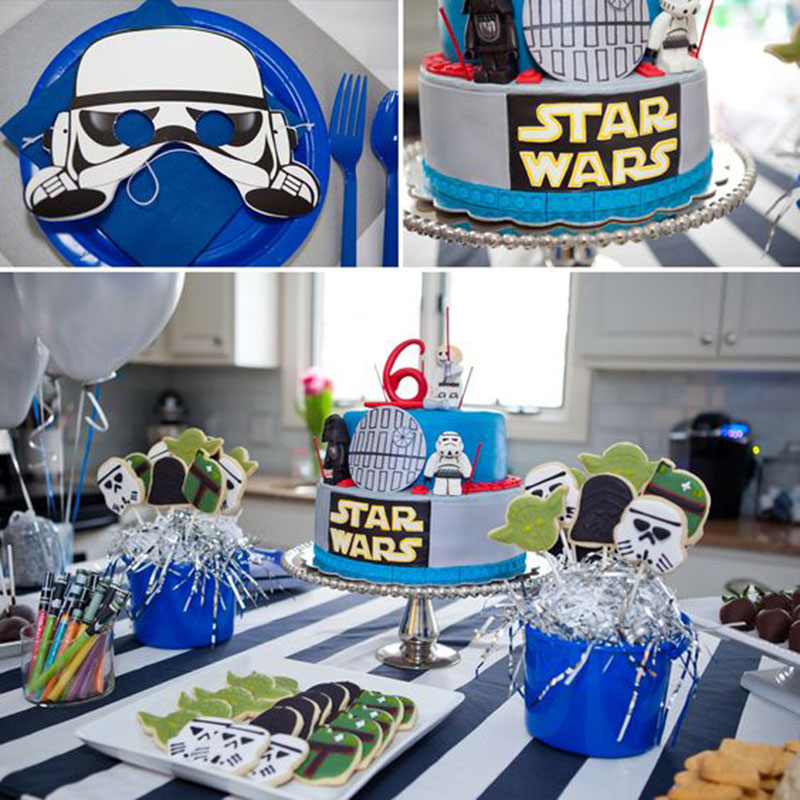 decor simples star wars