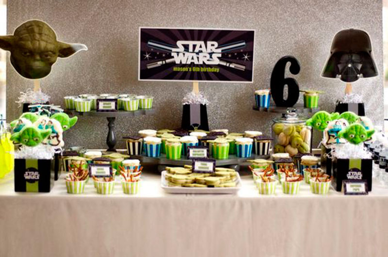 festa star wars ideias