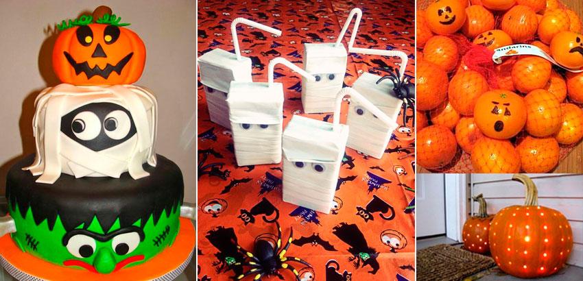 23 Inspirações para Festa de Halloween Infantil # Decoração De Festas De Halloween