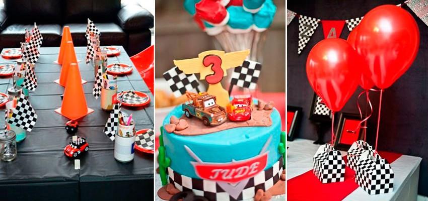 41 ideias para festa infantil: tema carros