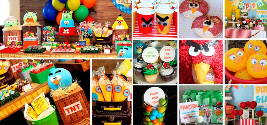 Festa Angry Birds: 30 inspirações para festa infantil