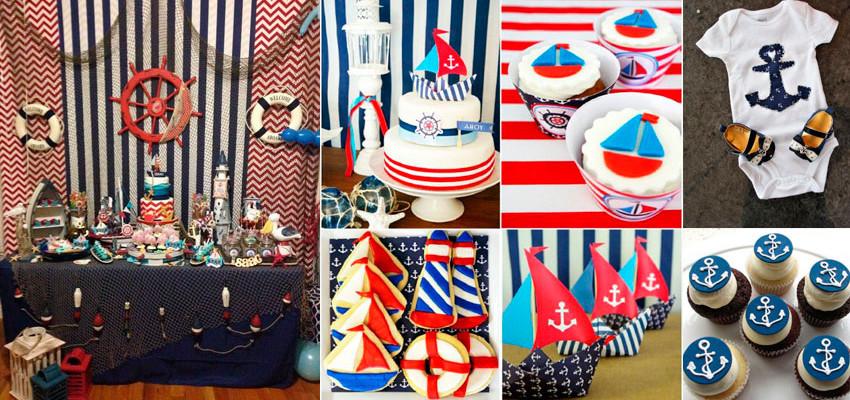 Festa Marinheiro: 60 ideias para festa náutica
