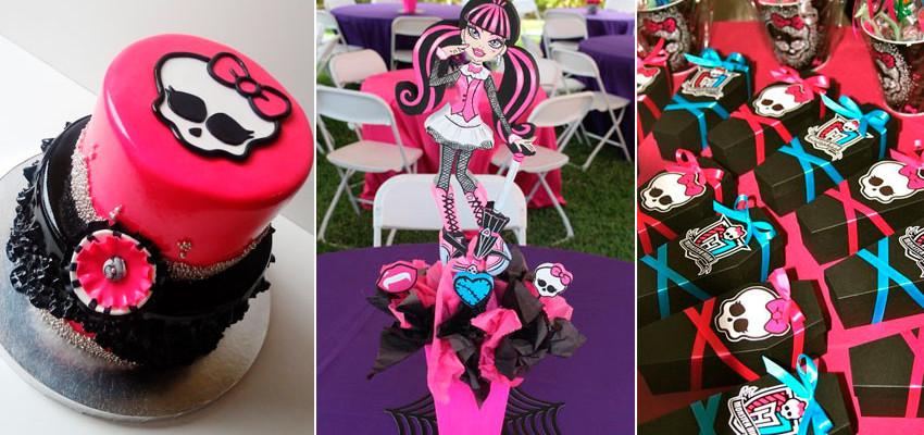 Festa Monster Hight: 34 ideias para festa infantil