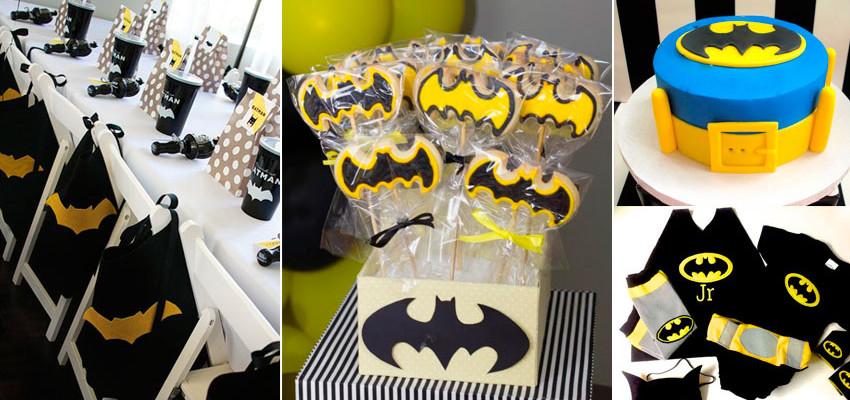 Festa do Batman- 50 inspirações para festa infantil