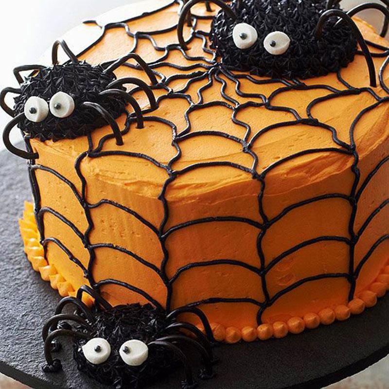 bolo aranha