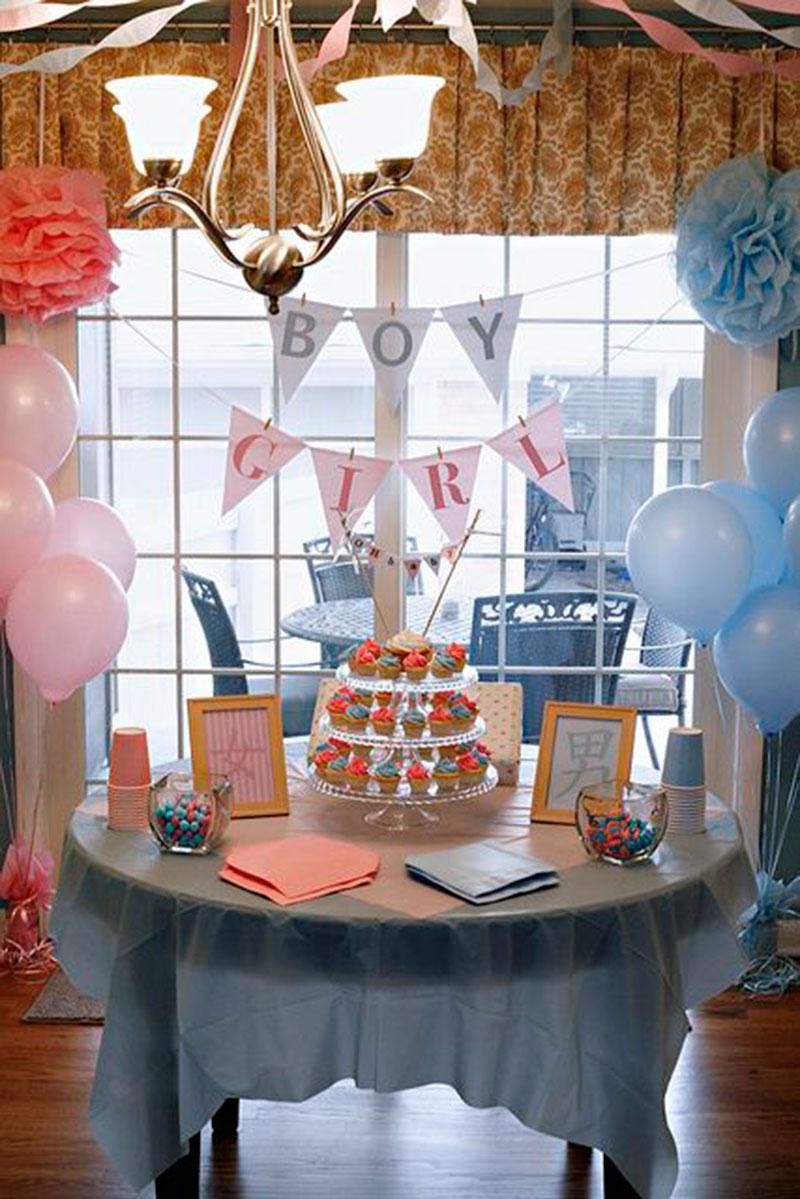 mesa decorada menina ou menino